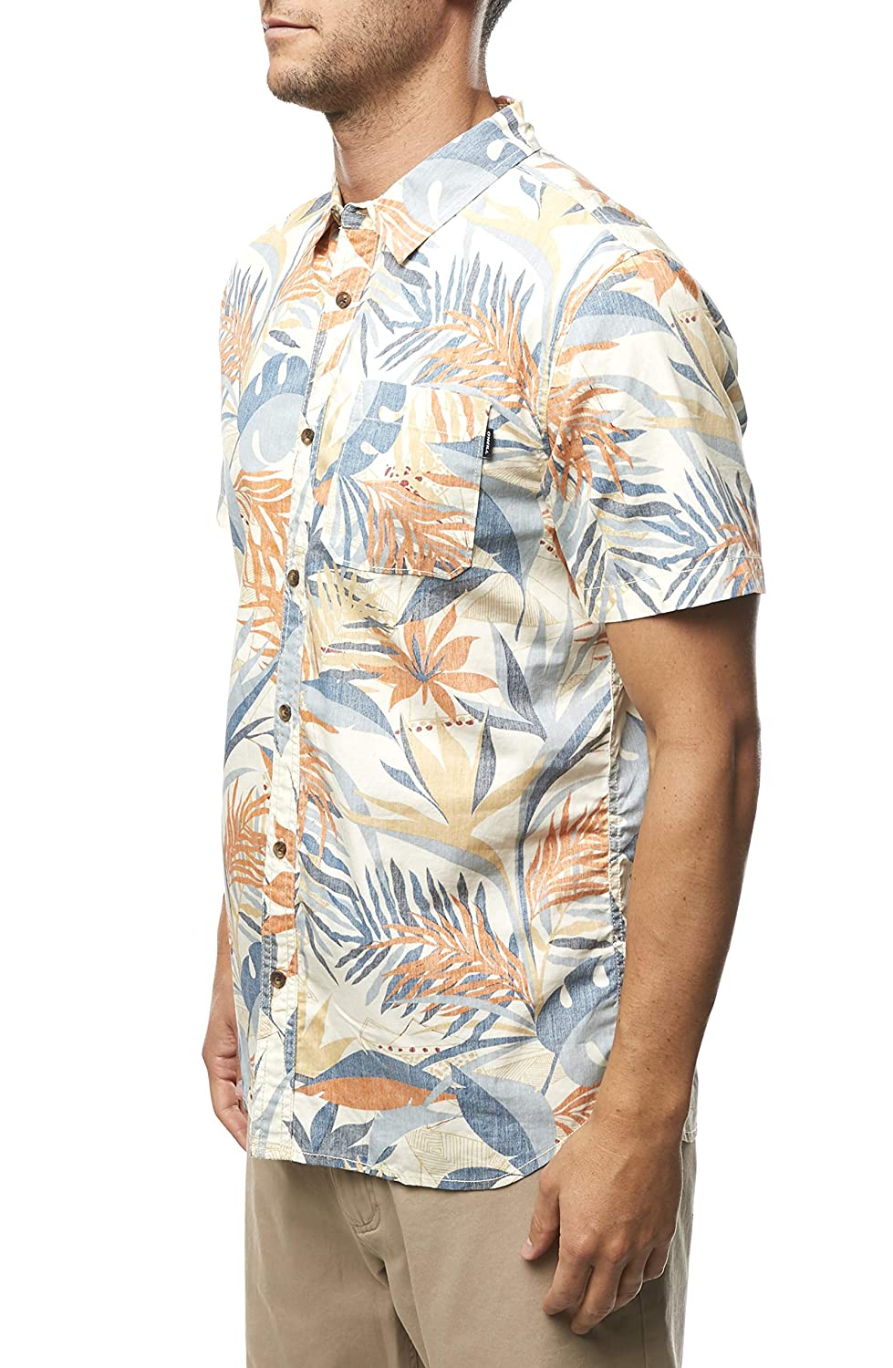ONeill Mens Sessions Short Sleeve Button Up