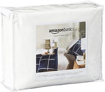 AmazonBasics Protège-matelas hypoallergénique - 90 x 190 x 20 cm ... 67e2afe5101e