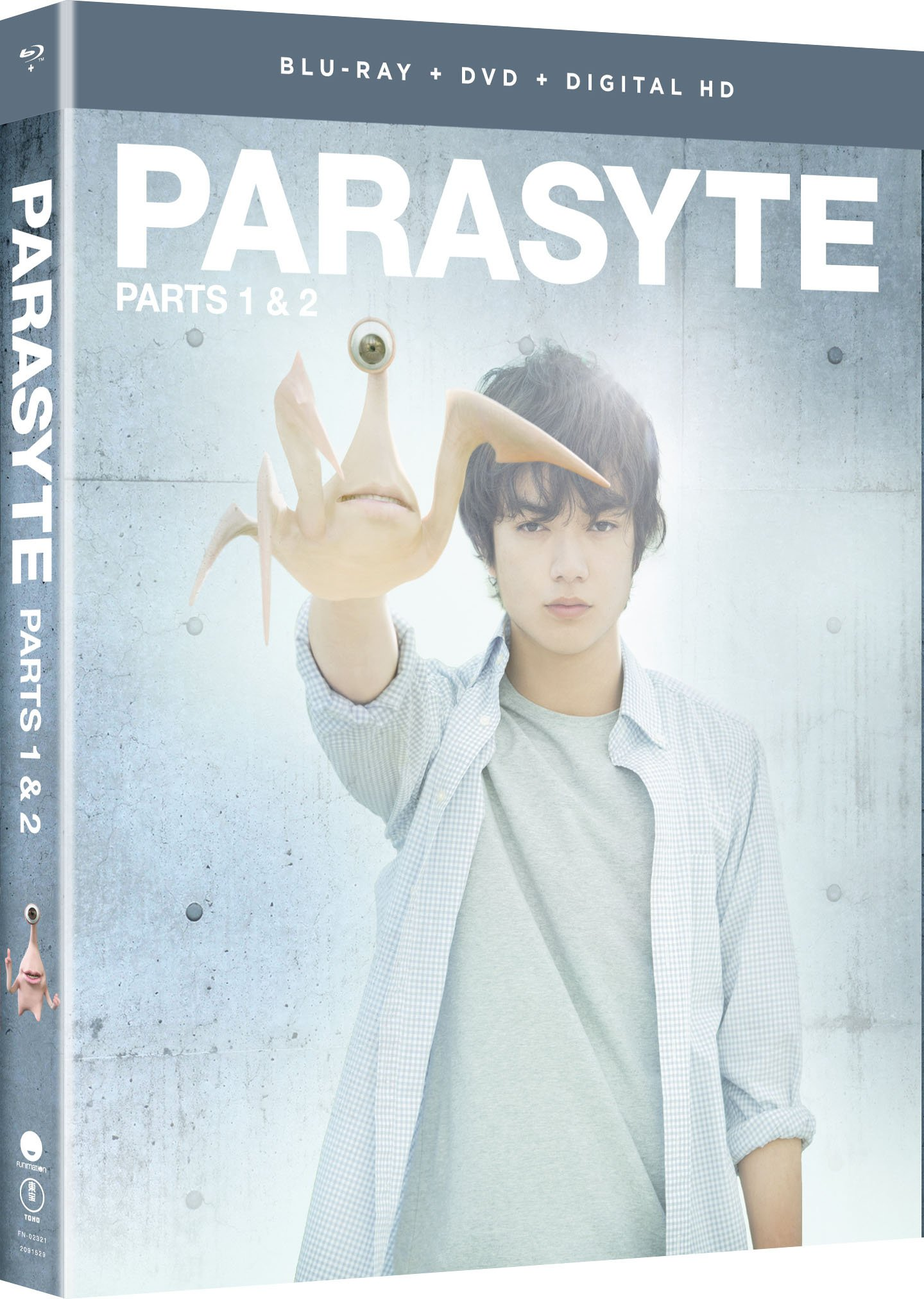Blu-ray : Parasyte: Parts One And Two - Live Action (With DVD, Ultraviolet Digital Copy, Boxed Set, Dubbed, Subtitled)