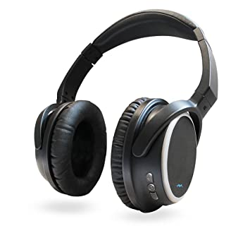 Miccus SR-71 Stealth - Bluetooth 4.2 Headphones, aptX Low Latency, Over Ear
