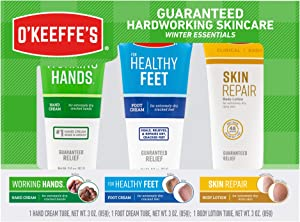 O'Keeffe's Winter Essentials Including Working Hands, Healthy Feet and Skin Repair, white