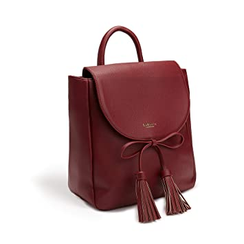35bf2e4f36 LaBante - Sac a Dos Femme - Miley - Sac Bordeaux Sac a Dos Fille Sac Cours  lycee ...