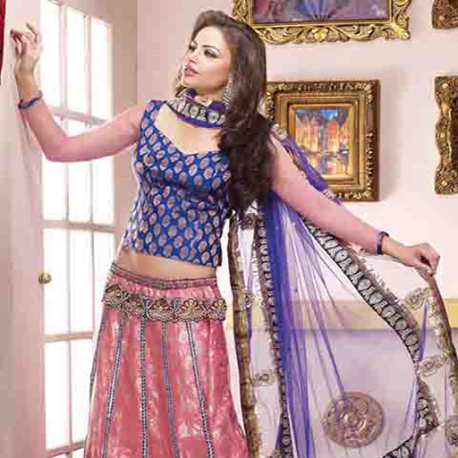 Ghagra Choli Dress Design for Indian Girls Vol 3