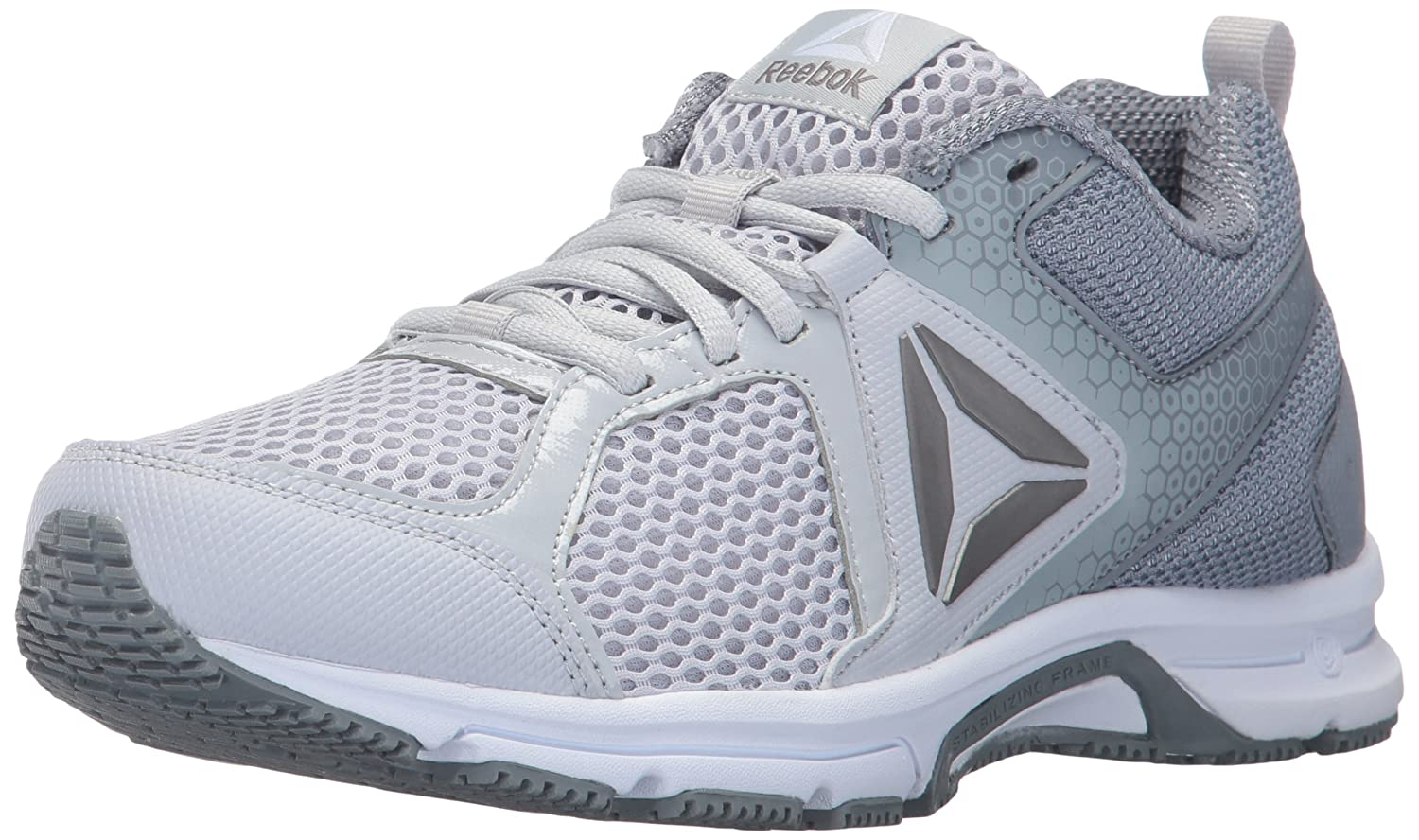Reebok Women's Runner 2.0 MT Track Shoe B01NCLLPVO 6.5 B(M) US|Cloud Grey/Asteroid Dust/Pewter