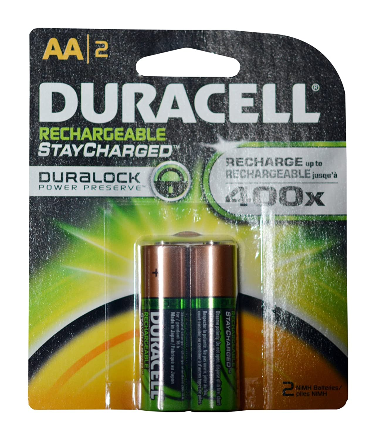 4c88eed629c Amazon.com  Duracell Rechargeable AA Batteries 16 Count (Packs of 2)   Health   Personal Care