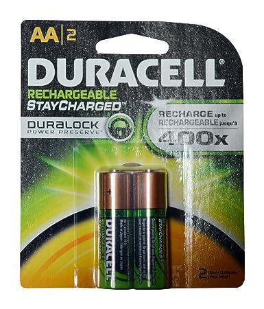 Amazon.com: Pilas recargables AA Duracell, AA, 1: Health ...