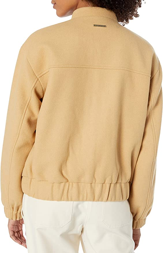 A|X Armani Exchange 阿玛尼 羊毛混纺 女式夹克外套 M码3折.08 海淘转运到手约¥604 国内¥1450