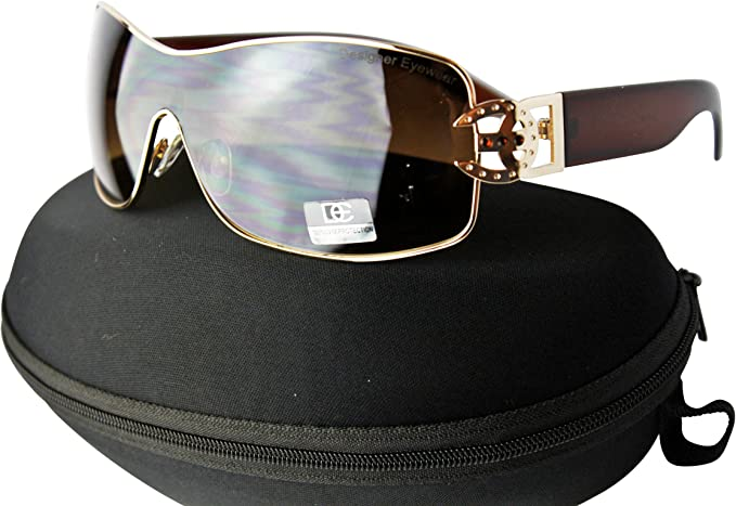 New DG Rhinestone Designer sunglasses Black//Gray Gradient for women