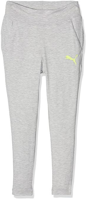 f0ff579e7a170 Puma Pantalones Soft Sport Jersey G para niños  Amazon.es  Deportes y aire  libre