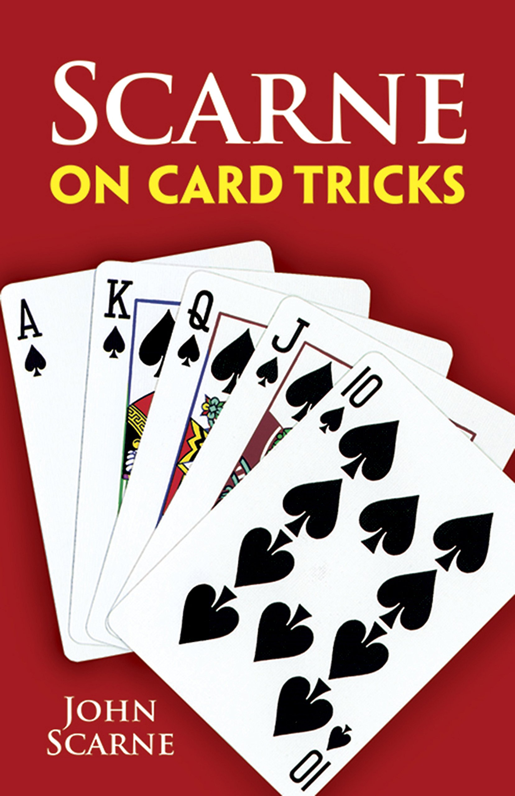 Scarne On Card Tricks  Dover Magic Books
