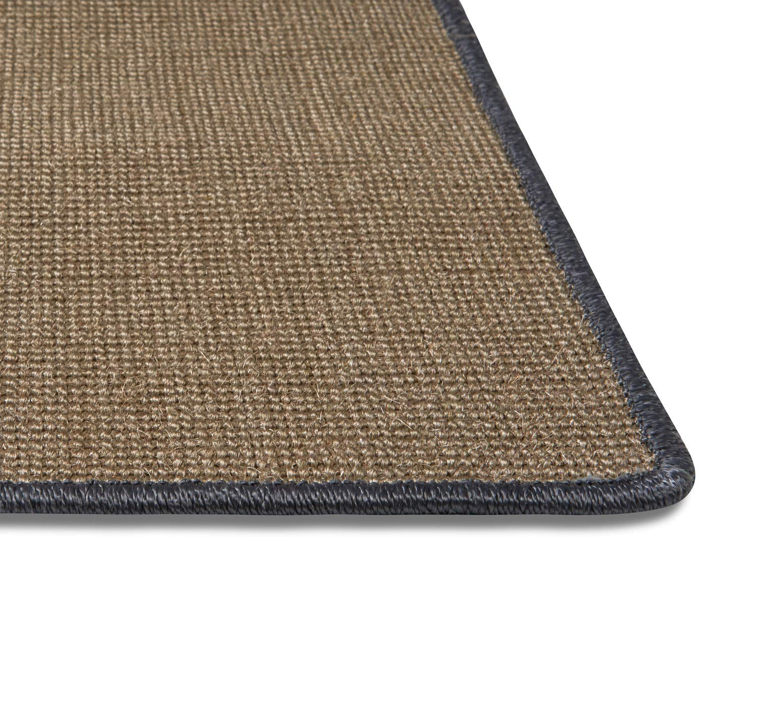Natural Sisal Cat Scratching Mat Protect Carpets and Sofas LsaiFater Cat Scratching Mat 11.8x14.9 inch, Grey