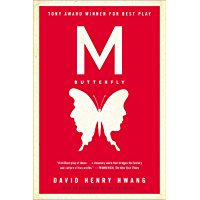 M. Butterfly: With an Afterword by the Playwright book cover