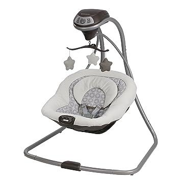 Amazon.com : Graco Simple Sway Baby Swing, Abbington, One Size : Baby