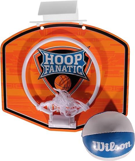 Wilson Mini Hoop Juego De Baloncesto Ring, Net & Juego De Pelota ...
