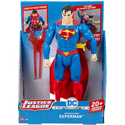 "DC Comics Kryptonian Power Superman 12"" Action Figure: Toys & Games"