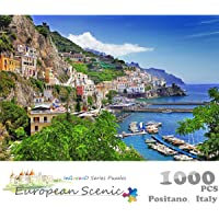 Ingooood- Jigsaw puzzle- 2018 New Arrival - Photography Series ?Positano - 1000 Pieces for Adult