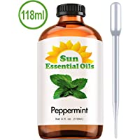 Best Peppermint Oil (Large 4 Ounce) Best Essential Oil