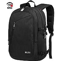 Raydem Travel Laptop Backpack for Women Men, 15.6 Inch Anti Theft Bookbag with USB Port