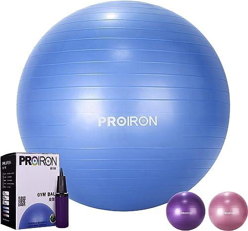 PROIRON Exercise Ball 55-75cm