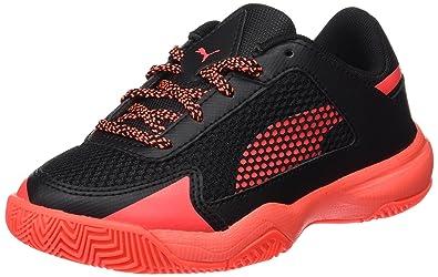 innovative design c5e75 ddee7 Puma Evospeed Indoor Nf 5 Jr, Chaussures de Fitness mixte enfant - Orange  (Black