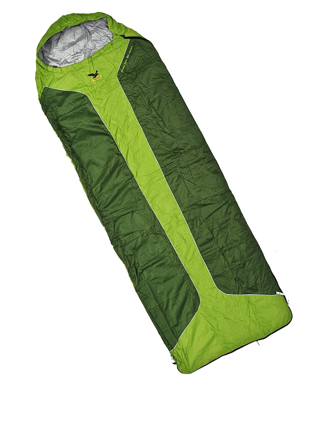 SALEWA Dream Light 150 Square Sb Saco De Dormir +8° Verde Derecha: Amazon.es: Deportes y aire libre