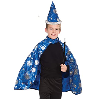 Forum Novelties Lil Wizard Cape and Hat Child's Costume, Medium: Toys & Games