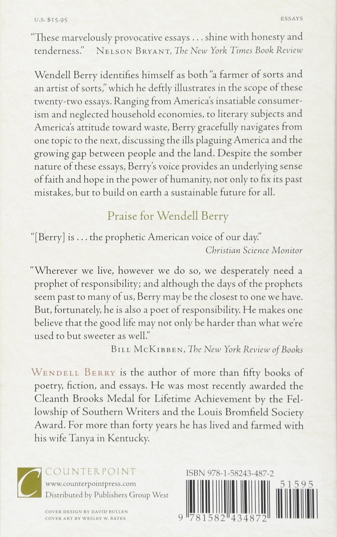 what are people for essays wendell berry  essays wendell berry 9781582434872 com books