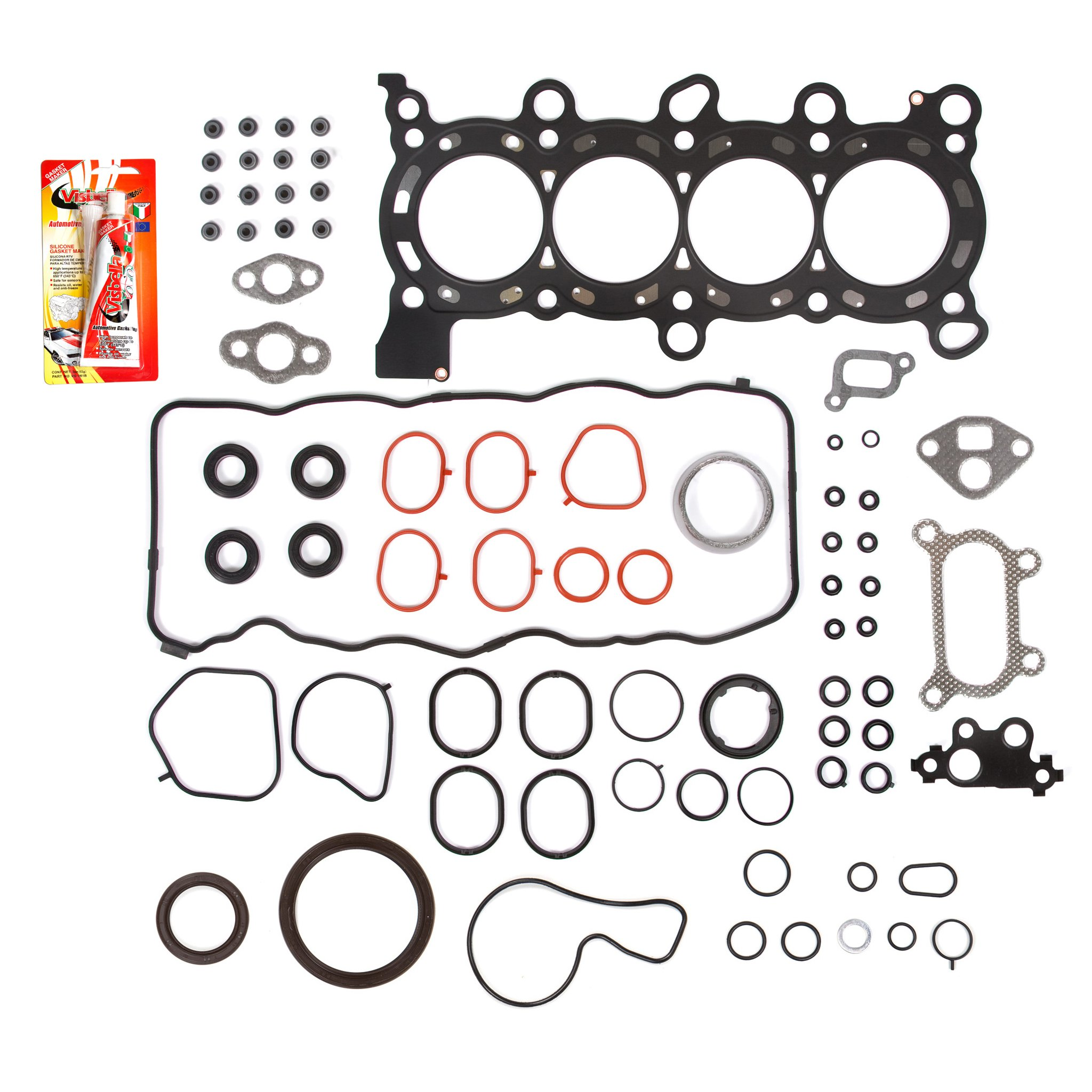 06-11 Honda Civic EX DX GX LX 1.8 SOHC R18A1, R18A4 MLS Full Gasket Set by Domestic Gaskets