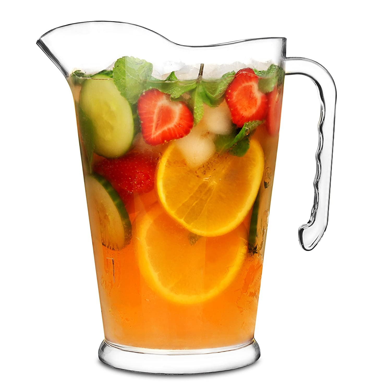 Stackable Plastic Pitcher Jug 1.5ltr Case of 24 Cocktail Jugs