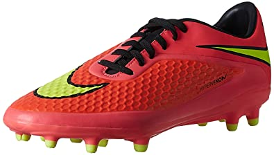 buy popular 1683c f8331 Nike HYPERVENOM Phelon FG, Chaussures de Football homme, BRGHT  CRMSN VLT-HYPR