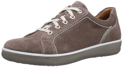 ara Miami - zapatos con cordones de cuero mujer, color marrón, talla 36