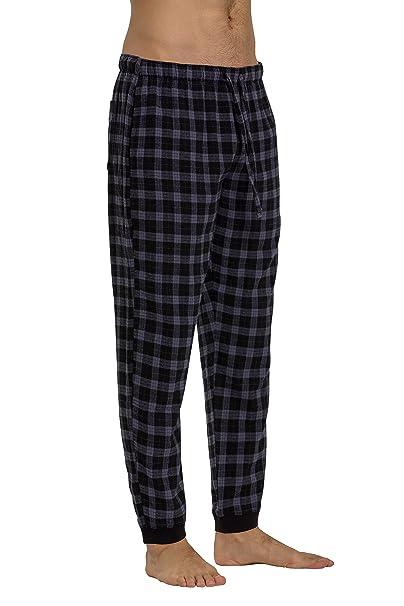 4fe8363536 CYZ Men s 100% Cotton Flannel Jogger Pajama Lounge Pant at Amazon ...