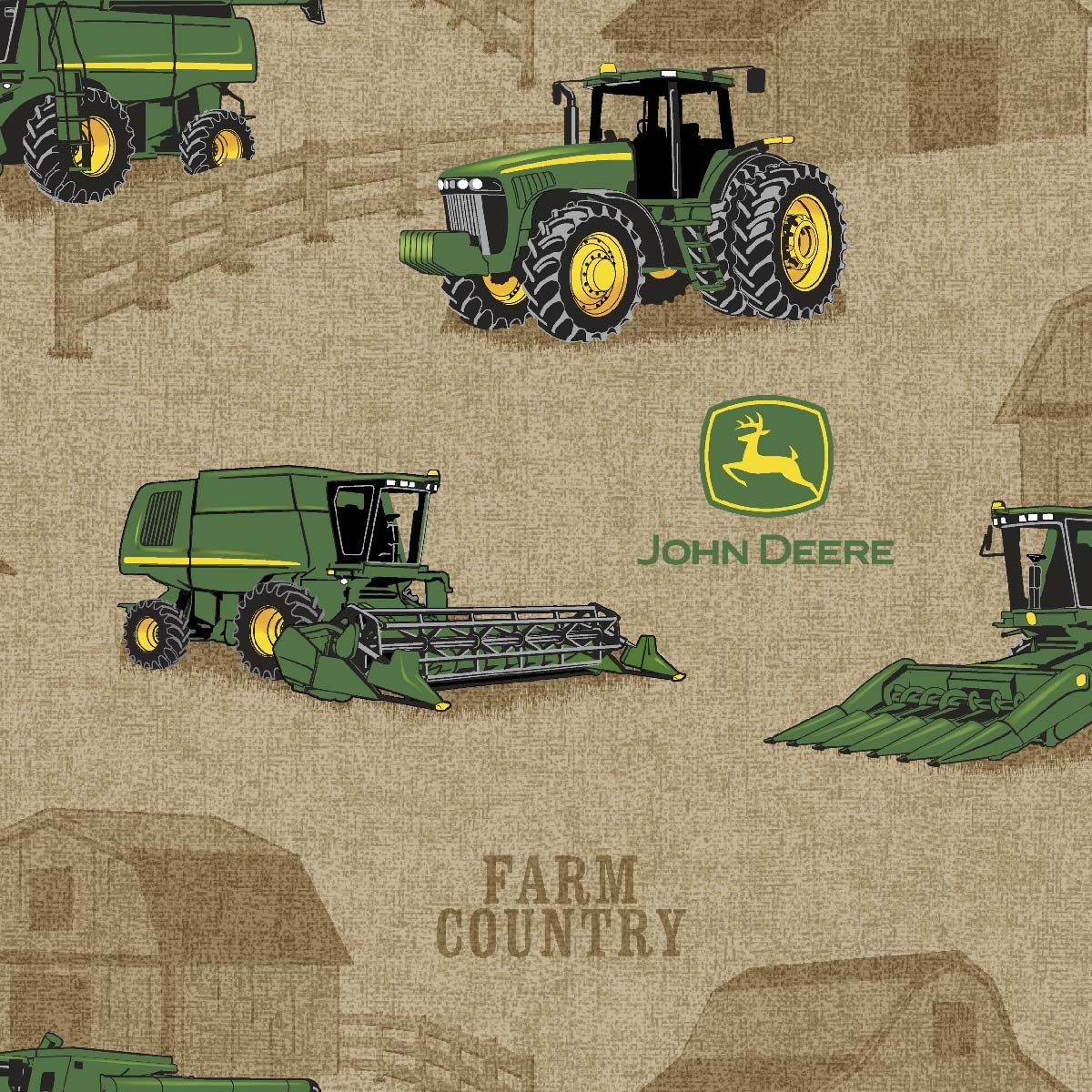Amazon.com: Springs Creative Products Group John Deere Tractor ...