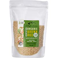 Chef's Choice Organic Medium Brown Rice Grain 500 g