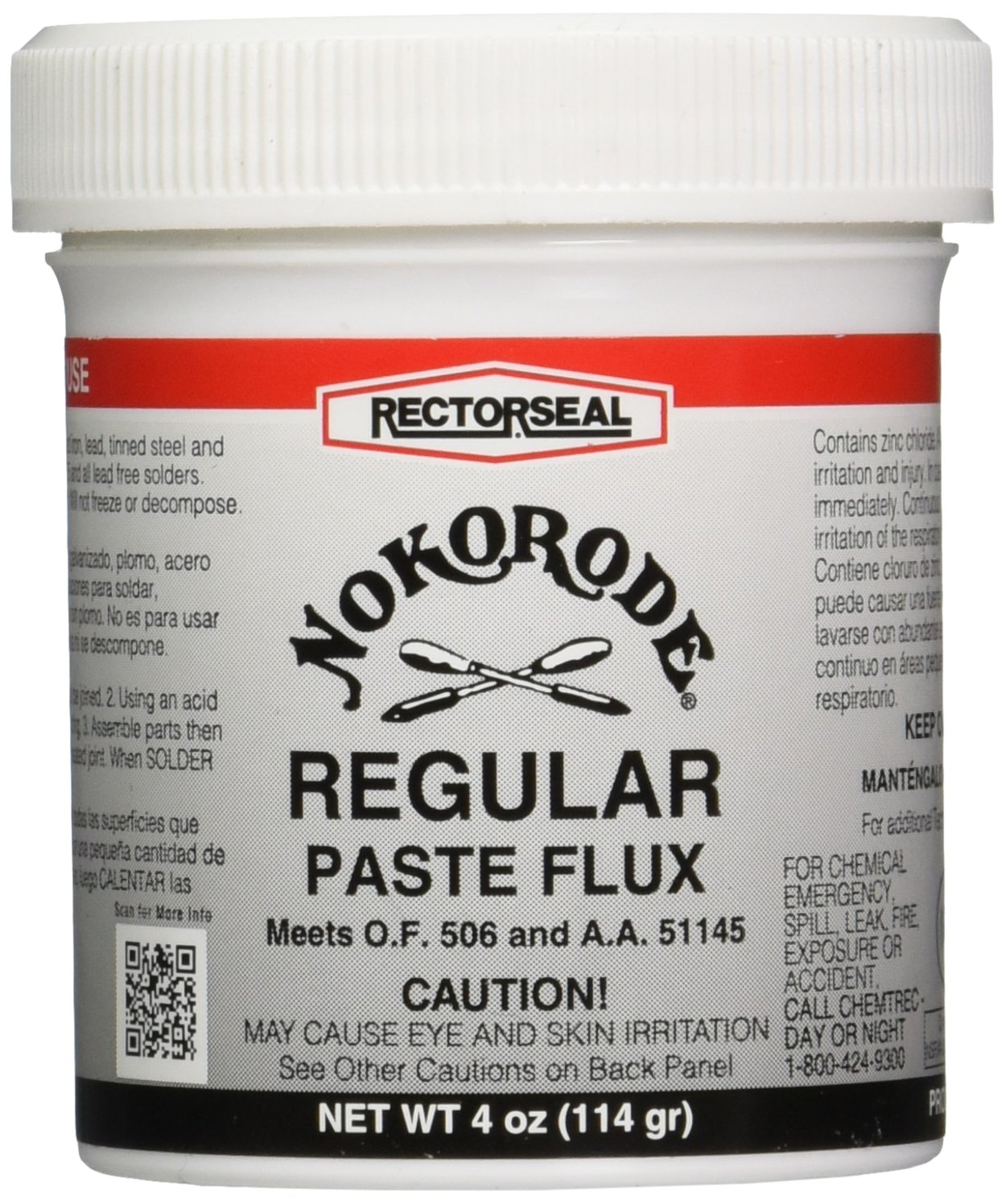 Rectorseal 14010 4-Ounce Nokorode Regular Paste Flux product image