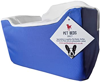 32x55x55 Black Leather Pet Beds Direct Car Seat for Dogs /& Pets Travel Basket//Safety Harness Car Seat in Medium