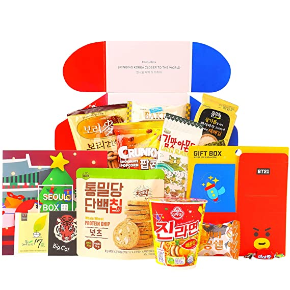 ! A handpicked selection of 10 of Japans most unique snacks accompanied by a free prize pictured
