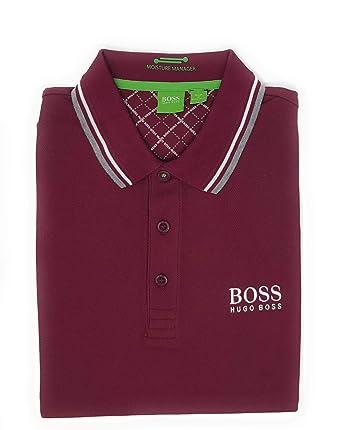 bac7e77a4 Amazon.com: Hugo Boss Mens Paddy Moisture Manager Pro Edition Polo Shirt  50249000: Clothing