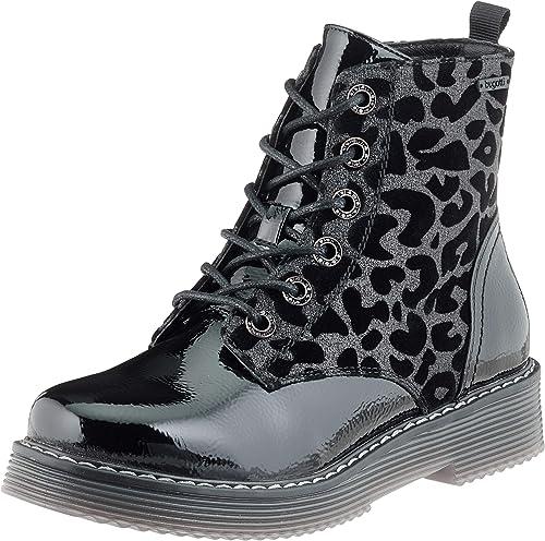 Sneaker Stiefel Schwarz Damen