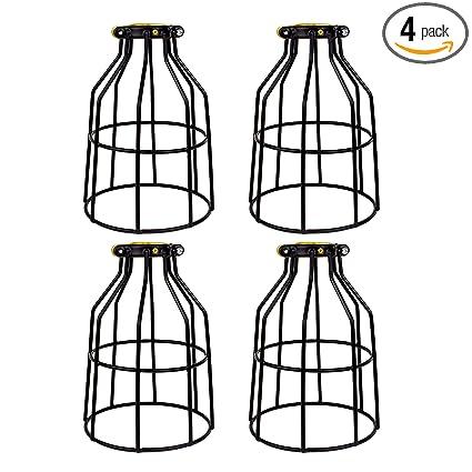 Superb Amazon Com Newhouse Lighting Metal Lamp Guard For Pendant String Wiring Digital Resources Funapmognl