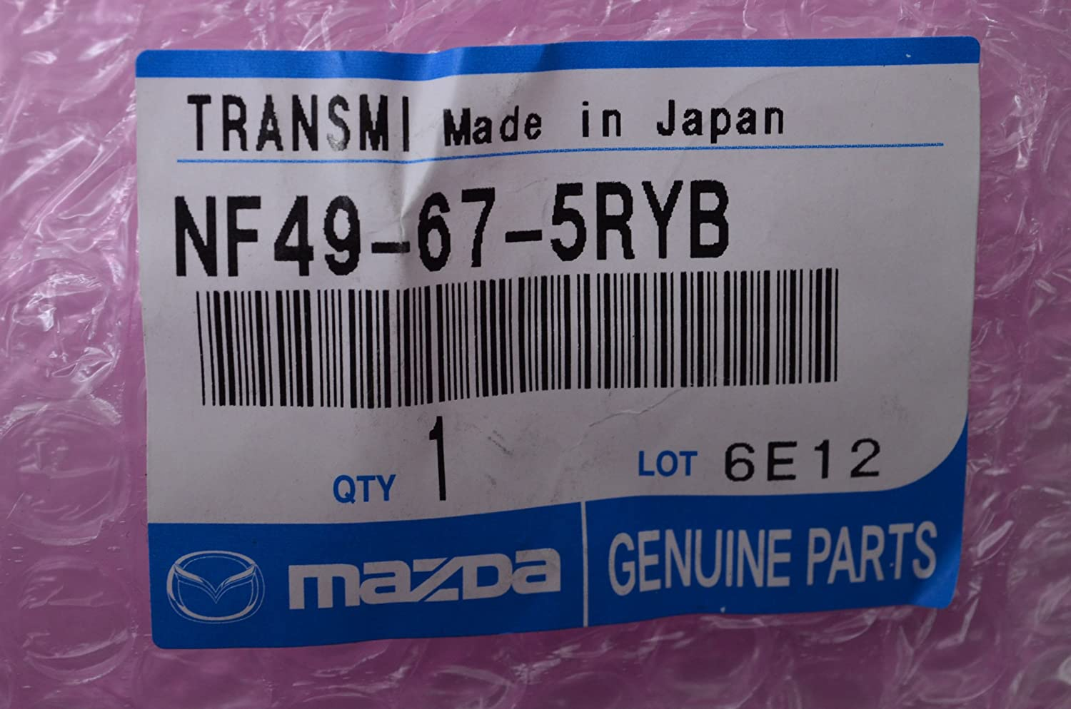 Mazda NF49-67-5RYB Remote Control Transmitter for Keyless Entry and Alarm System