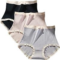 ASHOWIN Ropa Interior de algodón de Cintura Alta para Mujer, Calzones de Mujer Suaves y elásticas, Talla Grande(Paquete…