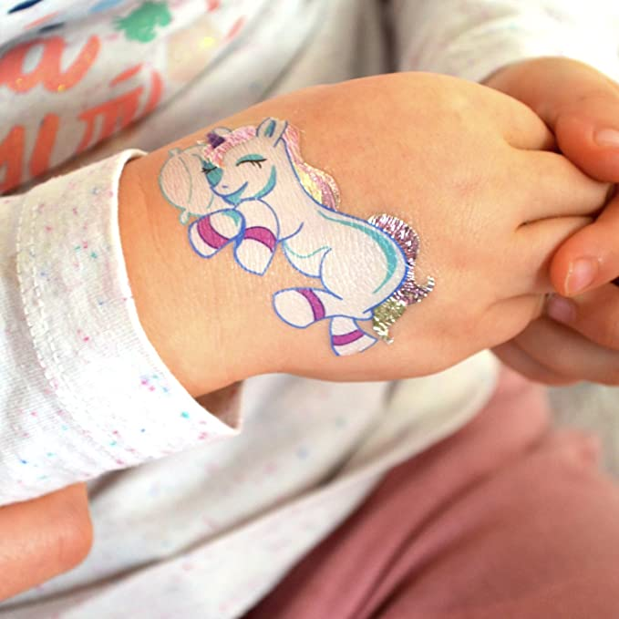 Tatuajes Temporales Metálicos para Niñas, Probados ...