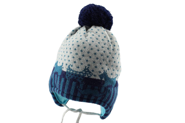 Amazon.com  Jamiks Hermes Baby Boy Winter Pom Pom Beanie Hat  Clothing f5db8d5276a2