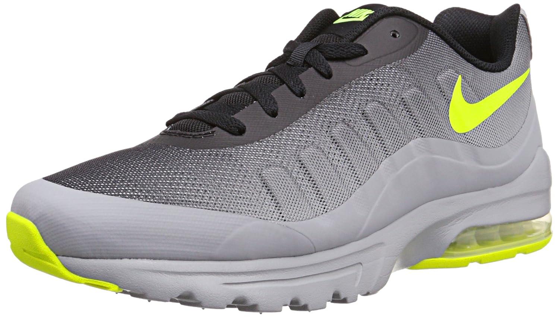 NIKE Men's Air Max Invigor Print Running Shoes B00VDHUMVG 7.5 D(M) US|Wolf Grey/Volt/Black/Cool Grey