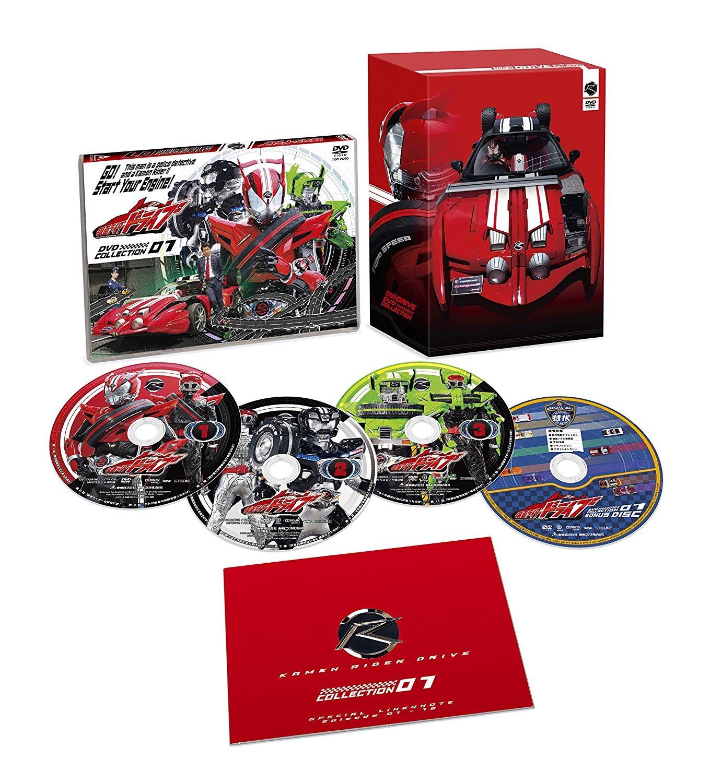 仮面ライダードライブ DVD COLLECTION 【初回生産限定版】 全4巻セット B07233BZYB