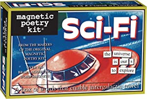 Magnetic Poetry - Sci-Fi Kit - Words for Refrigerator - Write Poems and Letters on the Fridge - Made in the USA