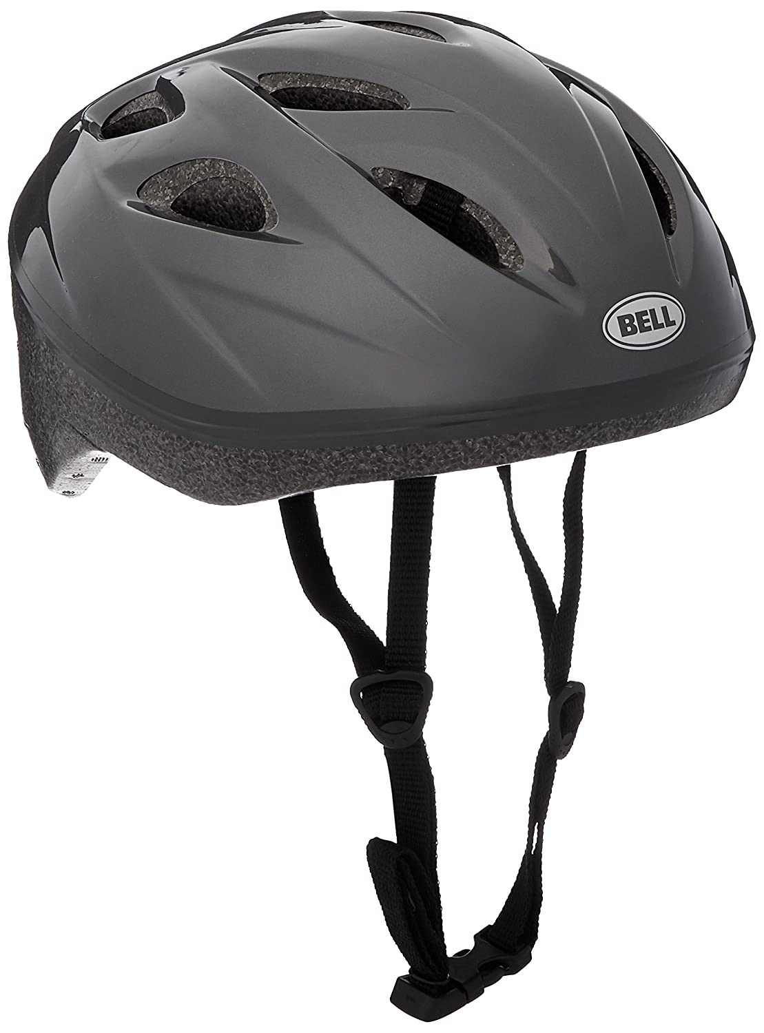 Bell Adult Reflex Helmet, Solid Light Titanium 7063301