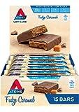 Atkins Fudge Caramel Bars | Keto Friendly Bars | 15 x 60g Low Carb Caramel Chocolate Bars | Low Carb, Low Sugar, High…
