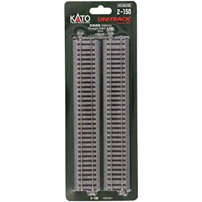 "Kato KAT2150 HO 246mm 9-3/4"" Straight (4): Toys & Games"